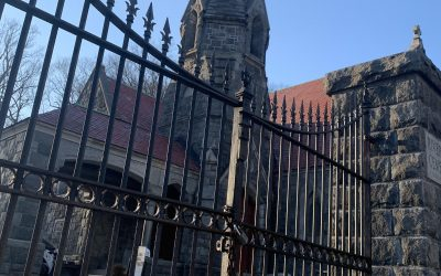 Repairs to front gates completed